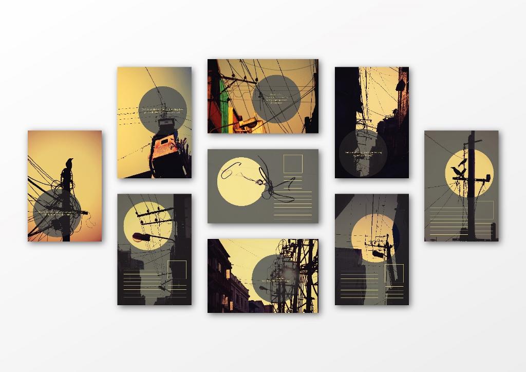 Veins Postcards