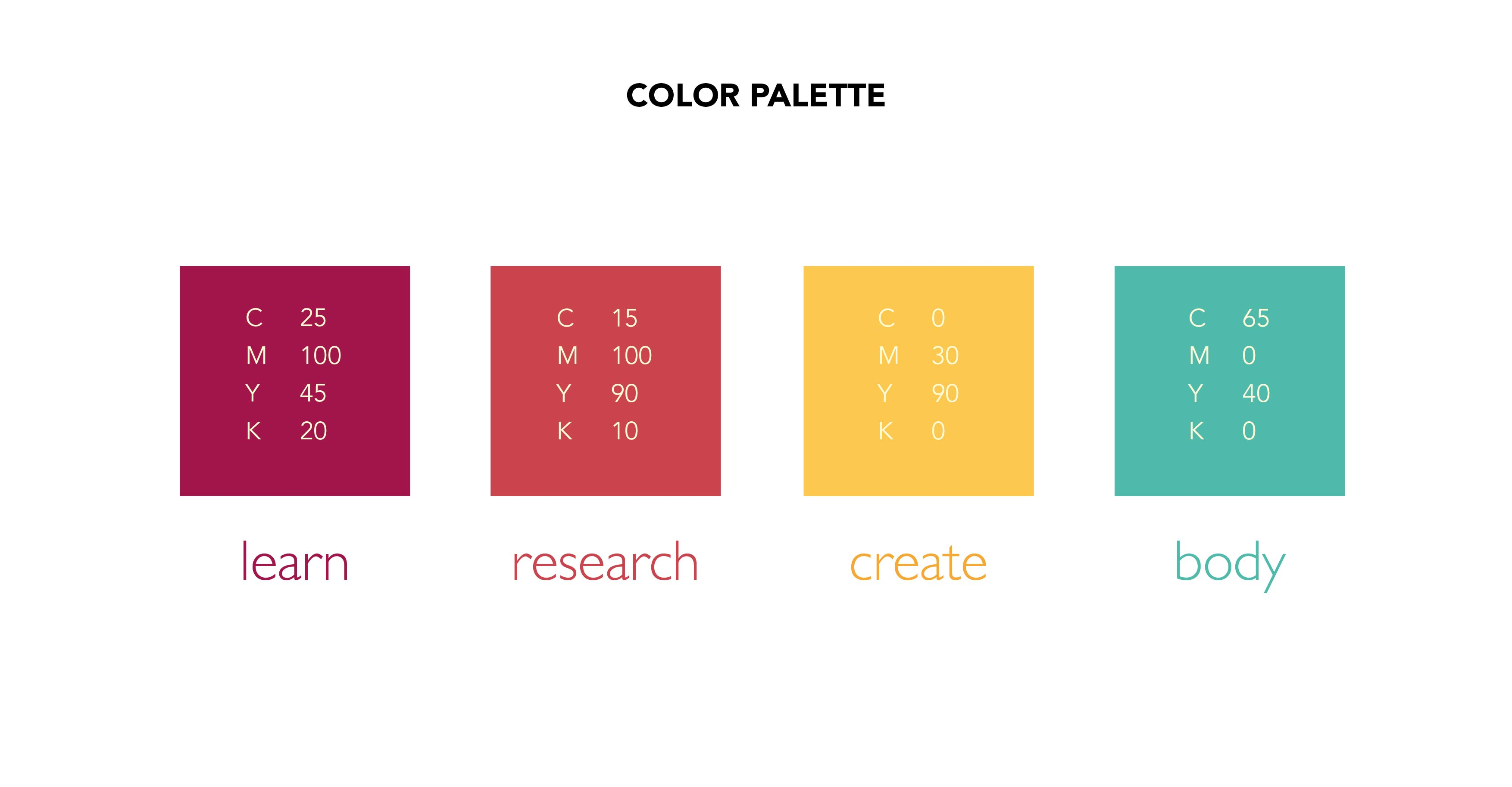 Colour Palette Antara