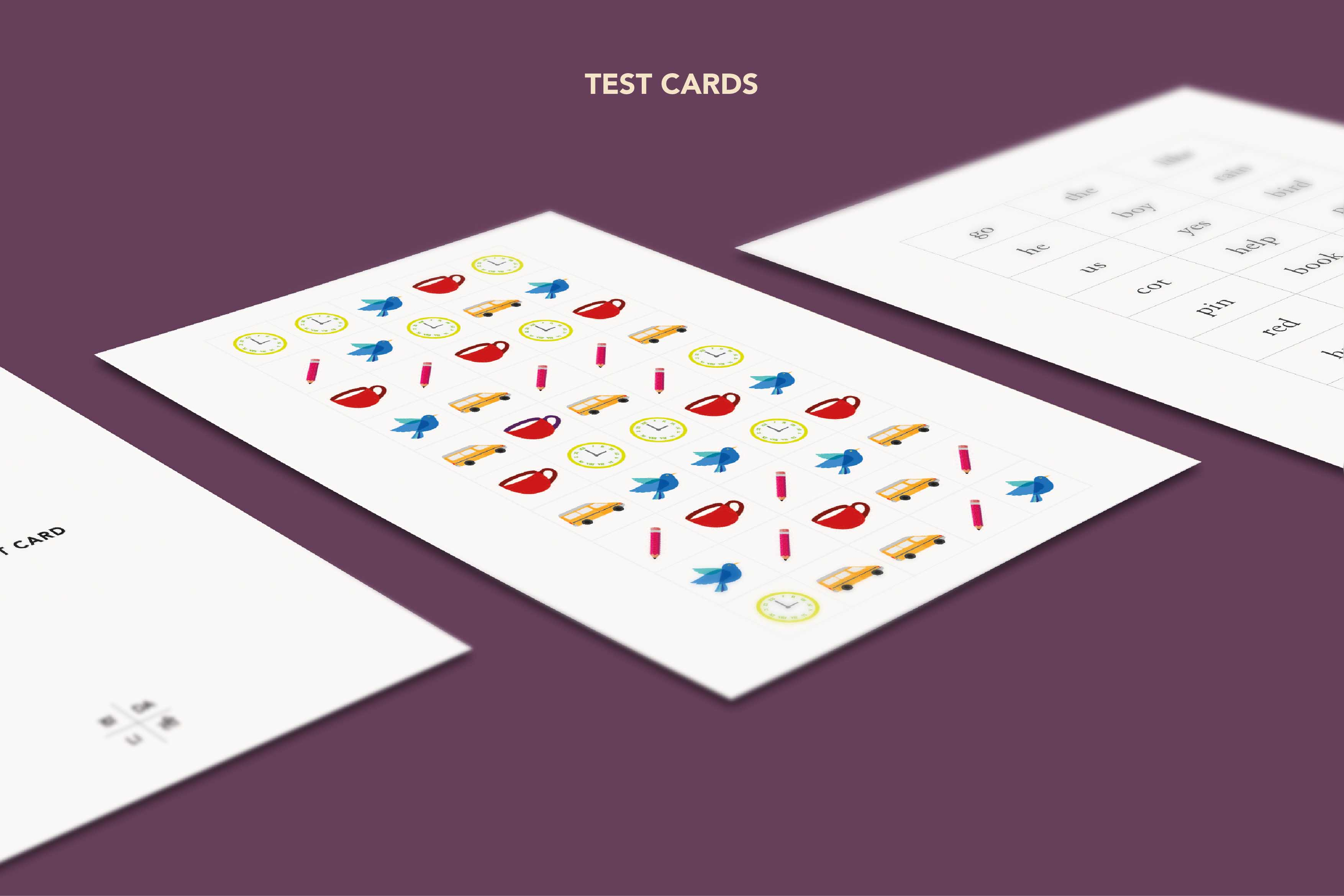Test Cards