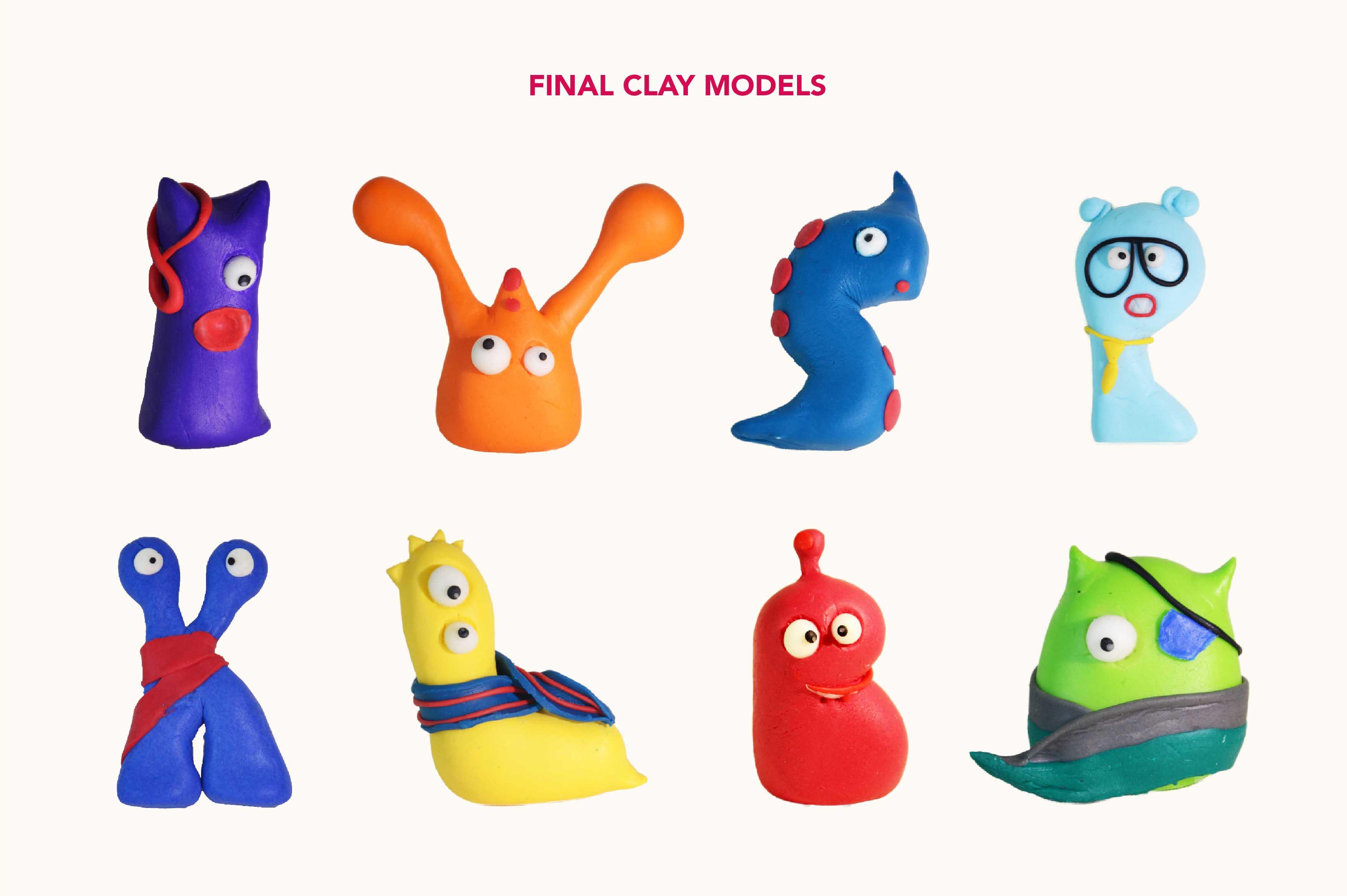 Final Clay Models
