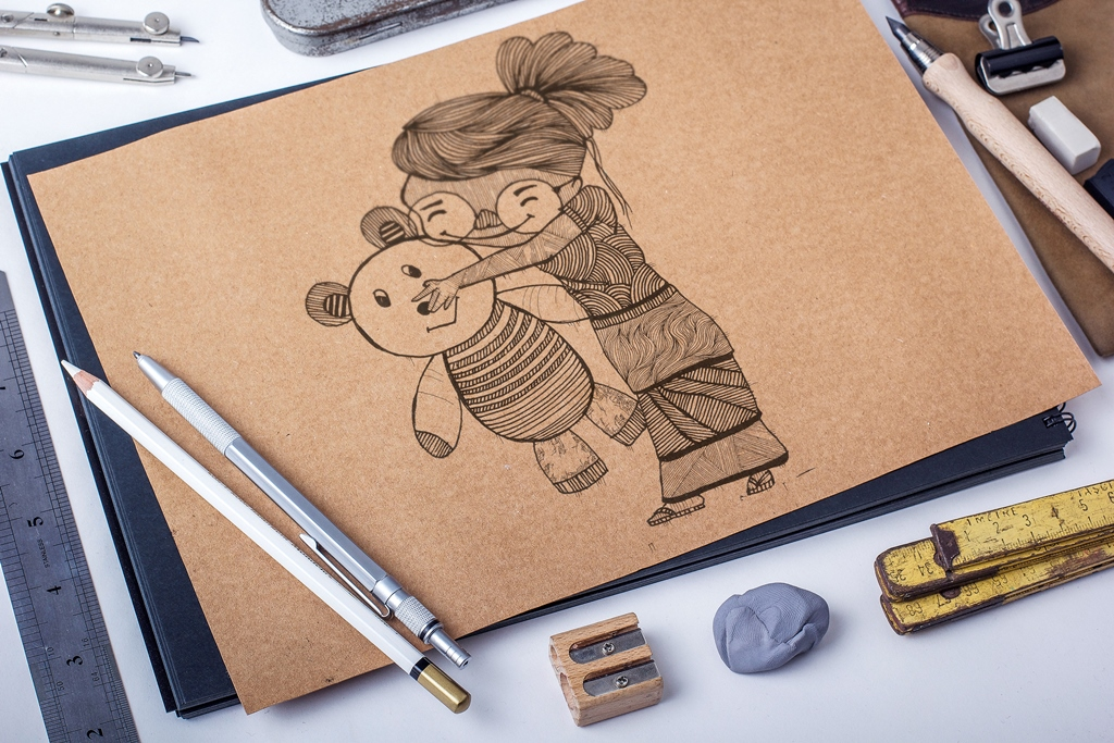 Illustration Style for characters | 2