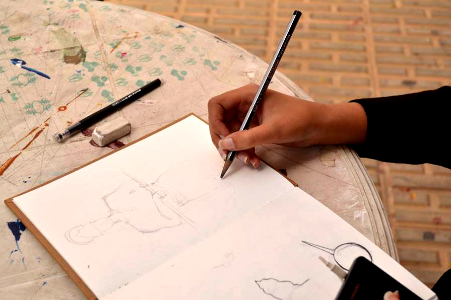 Sketching the silhouettes of Vaali and Sugreev