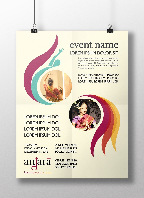 Poster Template for Collaborative Events
