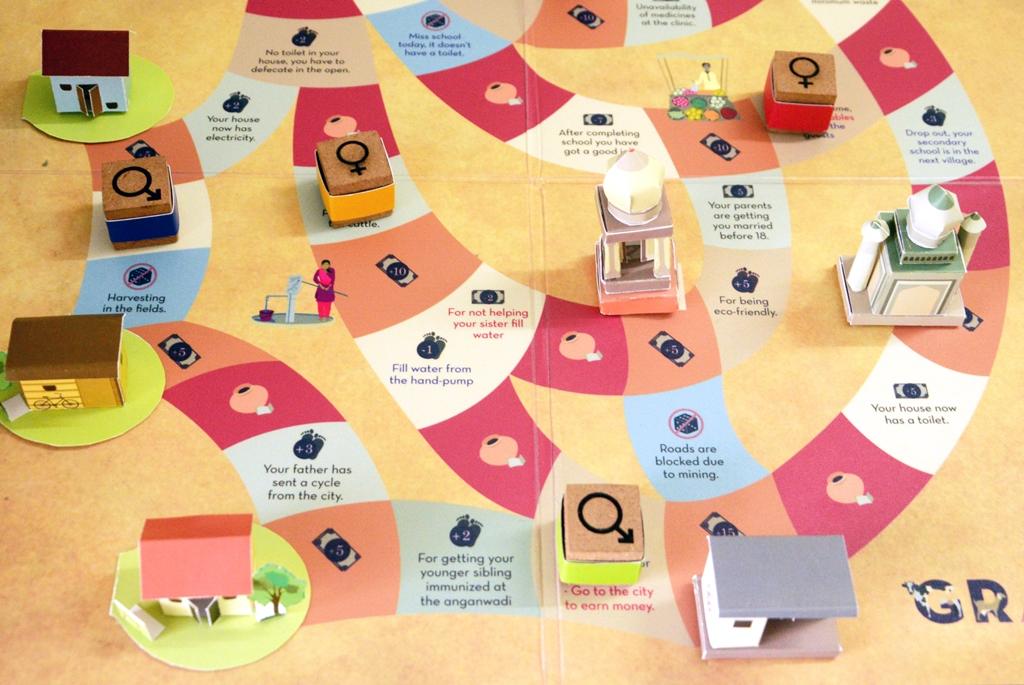 GRAM-IN Board Game