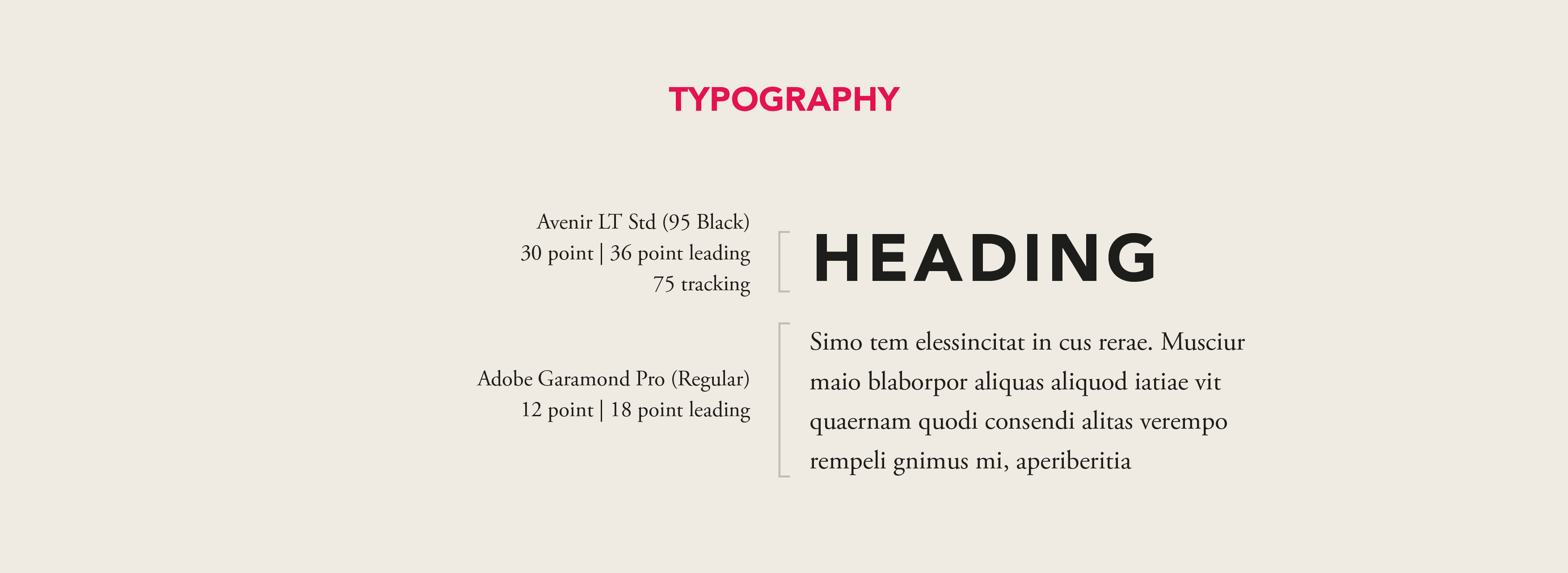 DALI Typography
