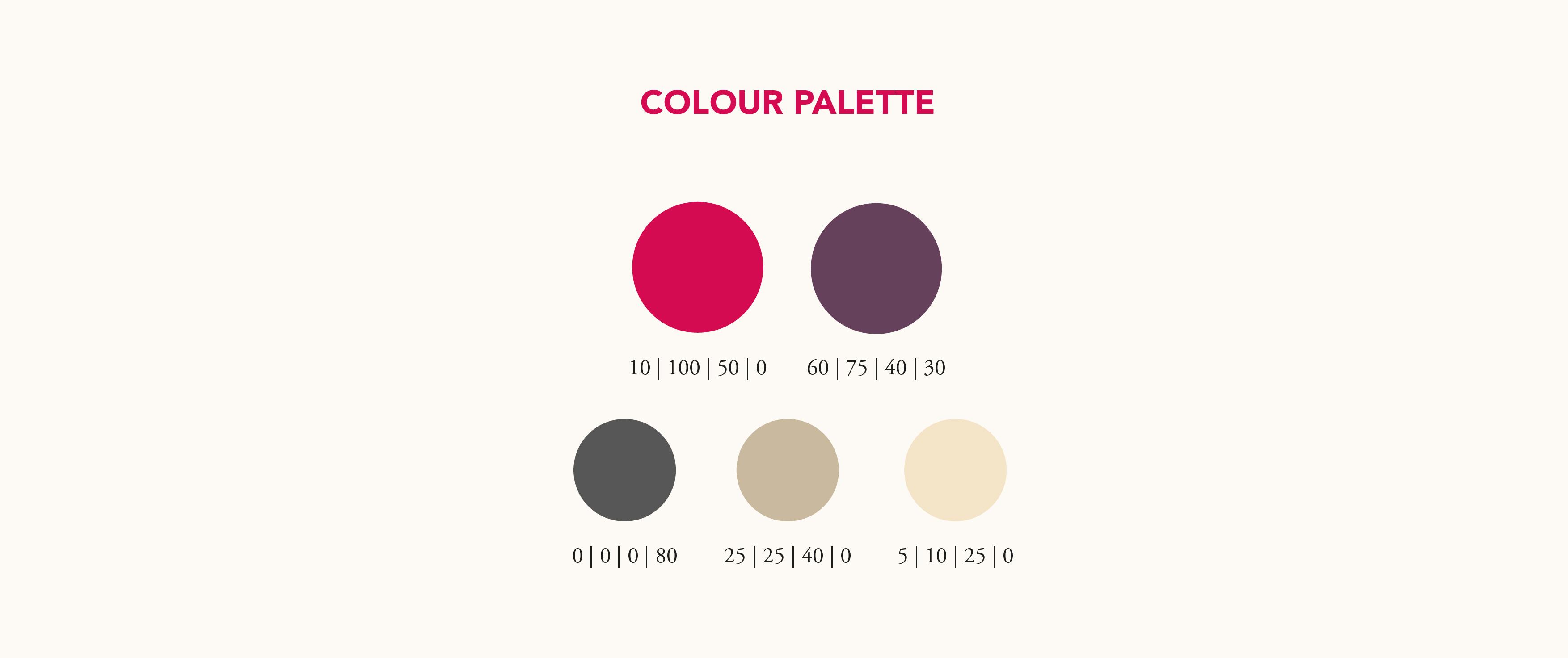 iLAB Colour Palette